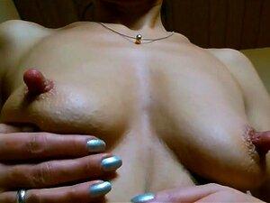 Lange steife nippel