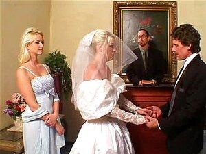 Die Braut Hochzeitstag Ficken Mutter brachte
