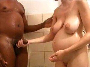 Schwangere schwarze Mädchen ficken