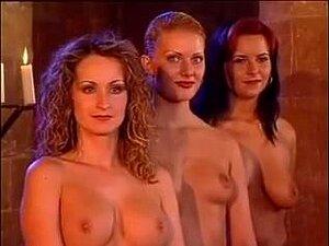 Ein Haufen heißer Porno-Babes in einer Hardcore-Orgie