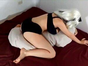 Kissen Humping Große Titten