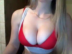 Blondine Teen Großer Arsch Titten